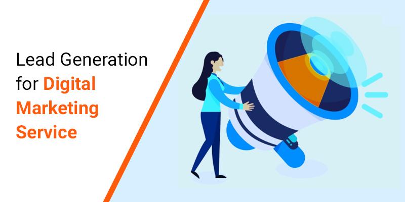 Lead Generation for Digital Marketing Service